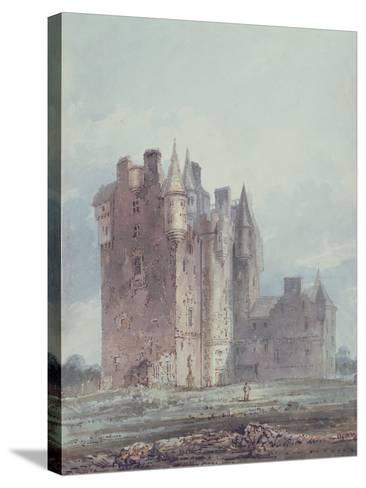 Glamis Castle-Thomas Girtin-Stretched Canvas Print
