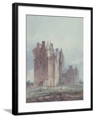 Glamis Castle-Thomas Girtin-Framed Art Print