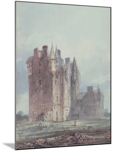 Glamis Castle-Thomas Girtin-Mounted Giclee Print