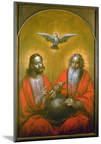The Holy Spirit with a Model of Ptolemy's World, 1610-Hermann Han-Mounted Giclee Print