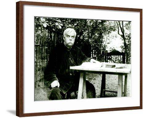 Leon Bloy (1846-1917)- Dornac-Framed Art Print