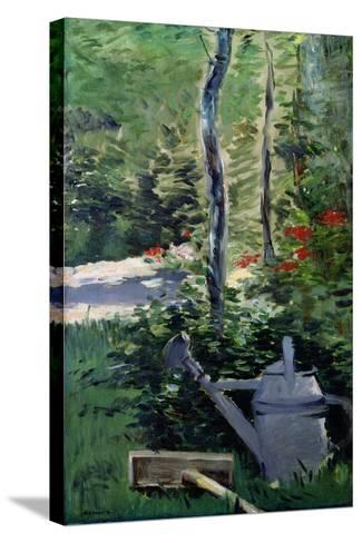 The Watering Can, 1880-Edouard Manet-Stretched Canvas Print