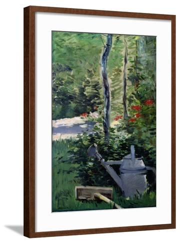 The Watering Can, 1880-Edouard Manet-Framed Art Print