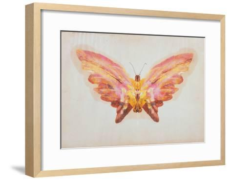 Butterfly-Albert Bierstadt-Framed Art Print