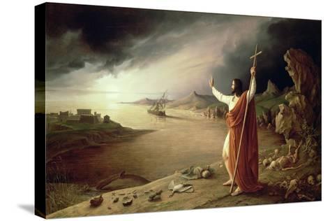 Apocalypse, 1831-Ludwig Ferdinand Schnorr von Carolsfeld-Stretched Canvas Print