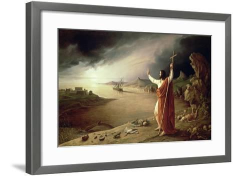 Apocalypse, 1831-Ludwig Ferdinand Schnorr von Carolsfeld-Framed Art Print