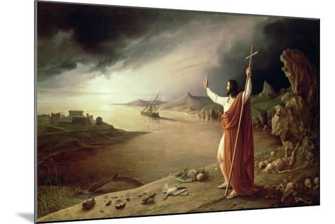 Apocalypse, 1831-Ludwig Ferdinand Schnorr von Carolsfeld-Mounted Giclee Print