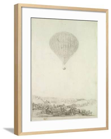 The Montgolfier Brothers, C.1800-08-Francisco de Goya-Framed Art Print