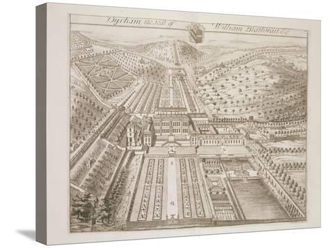 Dyrham Park, the Seat of William Blathwayt (C.1649-1717)-Johannes Kip-Stretched Canvas Print