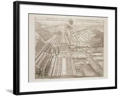 Dyrham Park, the Seat of William Blathwayt (C.1649-1717)-Johannes Kip-Framed Art Print