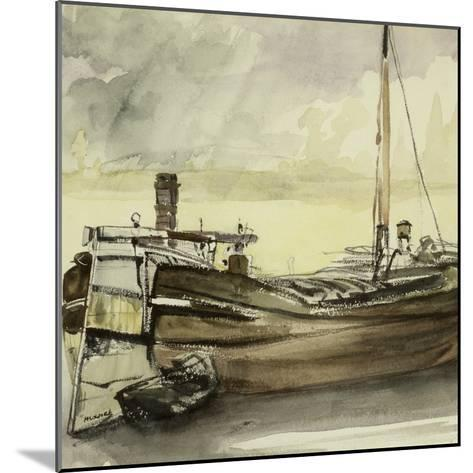 The Barge-Edouard Manet-Mounted Giclee Print