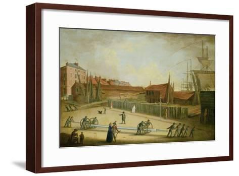 Westerdale's Yard from Saville Street-Robert Willoughby-Framed Art Print