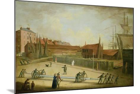 Westerdale's Yard from Saville Street-Robert Willoughby-Mounted Giclee Print