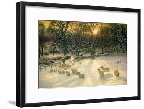 The Shortening Winter's Day Is Near a Close-Joseph Farquharson-Framed Art Print