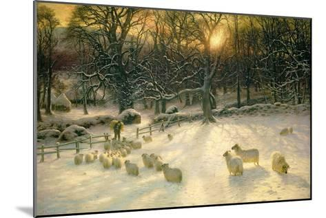 The Shortening Winter's Day Is Near a Close-Joseph Farquharson-Mounted Giclee Print