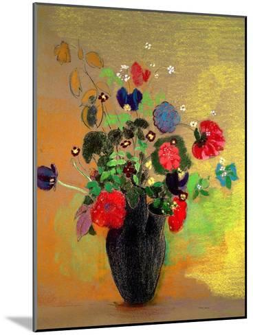 Vase of Flowers-Odilon Redon-Mounted Giclee Print