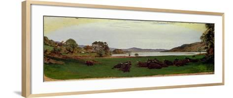 Windermere, 1855-Ford Madox Brown-Framed Art Print