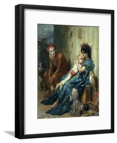 Les Saltimbanques, 1874-Gustave Dor?-Framed Art Print
