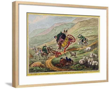 Posting in Scotland, Published by Hannah Humphrey, 1805-Charles Lorraine Smith-Framed Art Print