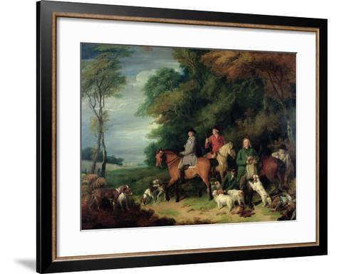 Return from Shooting-Francis Wheatley-Framed Art Print