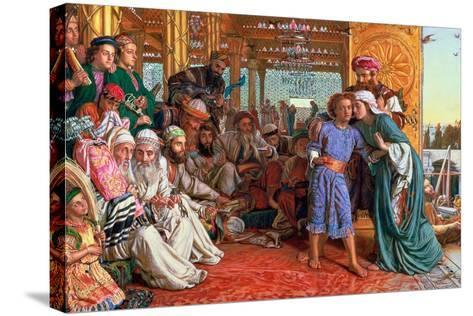 The Finding of the Saviour in the Temple, 1862-William Holman Hunt-Stretched Canvas Print