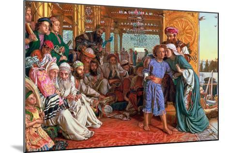 The Finding of the Saviour in the Temple, 1862-William Holman Hunt-Mounted Giclee Print