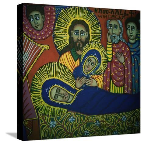 The Dormition of the Virgin--Stretched Canvas Print