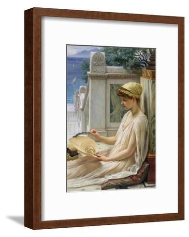 On the Terrace, 1889-Edward John Poynter-Framed Art Print