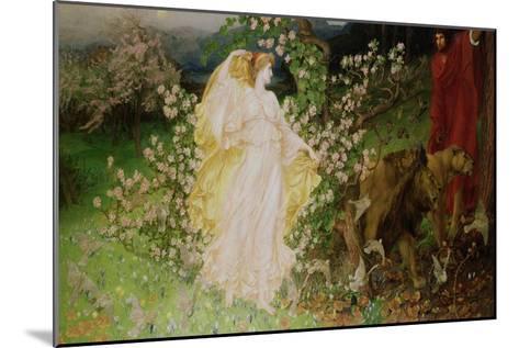 Venus and Anchises, 1889-90-William Blake Richmond-Mounted Giclee Print