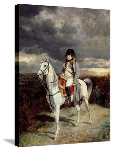 1814, 1862-Jean-Louis Ernest Meissonier-Stretched Canvas Print