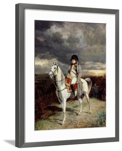 1814, 1862-Jean-Louis Ernest Meissonier-Framed Art Print