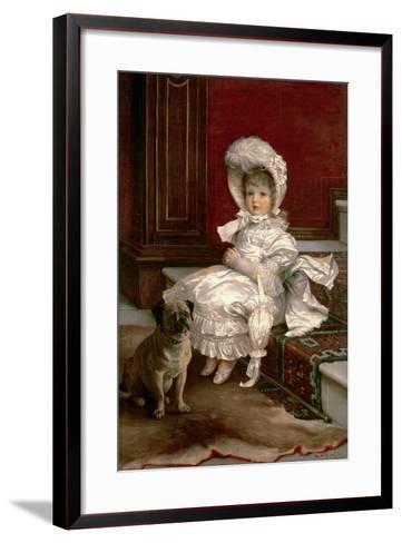Quite Ready-Philip Richard Morris-Framed Art Print
