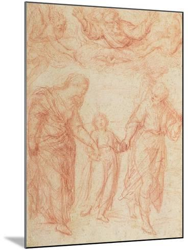 The Holy Family-Simone Cantarini-Mounted Giclee Print
