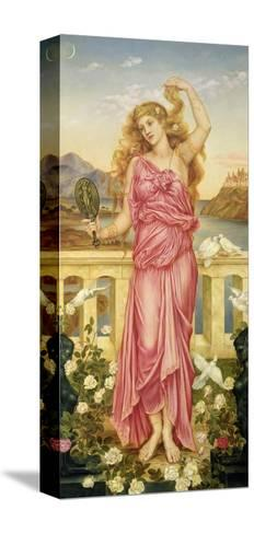 Helen of Troy, 1898-Evelyn De Morgan-Stretched Canvas Print