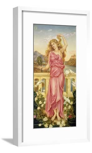 Helen of Troy, 1898-Evelyn De Morgan-Framed Art Print
