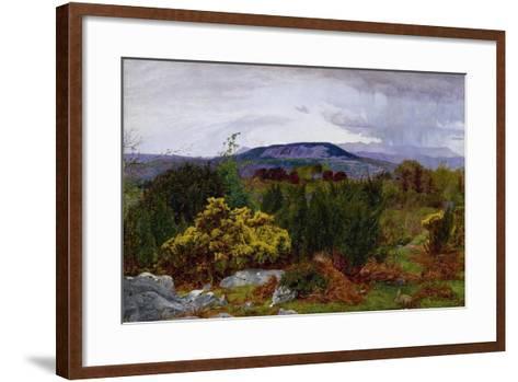 Spring, Arnside Knot from Warton Crag, C.1863-Daniel Alexander Williamson-Framed Art Print
