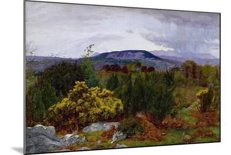 Spring, Arnside Knot from Warton Crag, C.1863-Daniel Alexander Williamson-Mounted Giclee Print