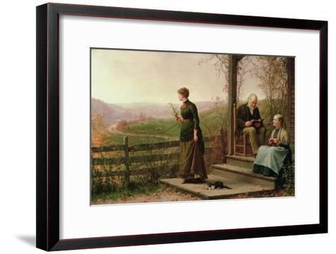 Love's Young Dream, 1887-Jennie Augusta Brownscombe-Framed Art Print