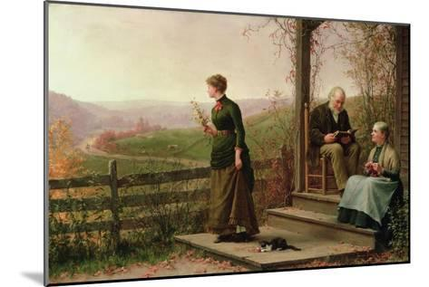 Love's Young Dream, 1887-Jennie Augusta Brownscombe-Mounted Giclee Print