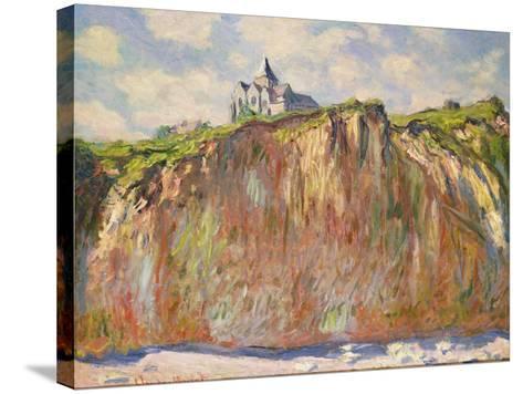 L'Eglise a Varangeville, C.1880-Claude Monet-Stretched Canvas Print