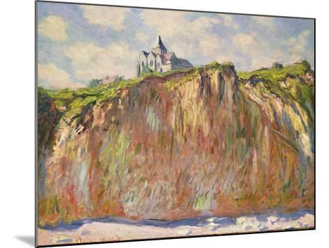 L'Eglise a Varangeville, C.1880-Claude Monet-Mounted Giclee Print