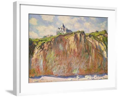 L'Eglise a Varangeville, C.1880-Claude Monet-Framed Art Print