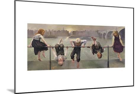 Street Arabs at Play, 1890-Dorothy, Nee Tennant Stanley-Mounted Giclee Print