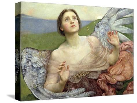 Sense of Sight, 1895-Annie Louisa Swynnerton-Stretched Canvas Print