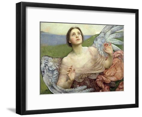 Sense of Sight, 1895-Annie Louisa Swynnerton-Framed Art Print