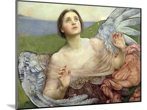 Sense of Sight, 1895-Annie Louisa Swynnerton-Mounted Giclee Print