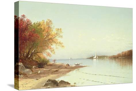 Narragansett Bay, Autumn, Rhode Island-Alfred Thompson Bricher-Stretched Canvas Print