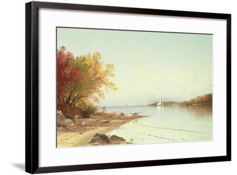 Narragansett Bay, Autumn, Rhode Island-Alfred Thompson Bricher-Framed Art Print