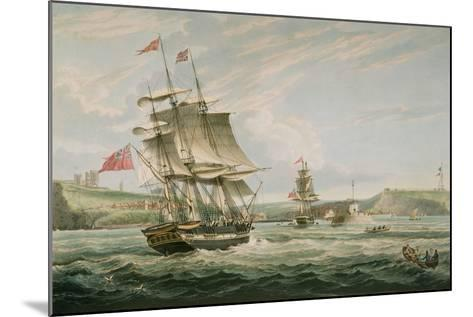 Whitby, Published by G. Chambers and E. Fisher, 1826-George the Elder Chambers-Mounted Giclee Print