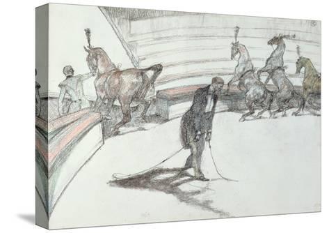 Au Cirque: Chevaux En Liberte, 1899-Henri de Toulouse-Lautrec-Stretched Canvas Print